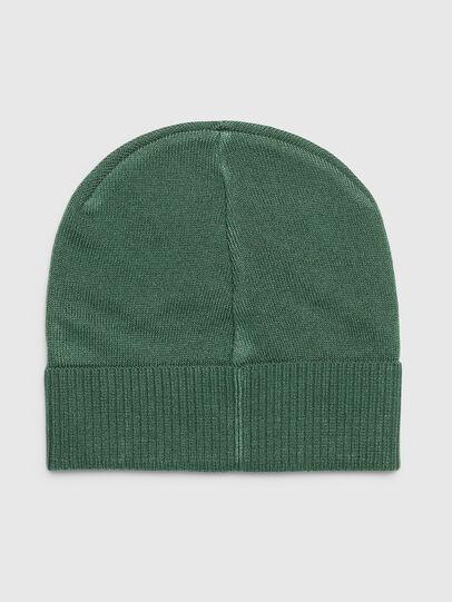 Diesel - K-BECKY-B, Dark Green - Knit caps - Image 2