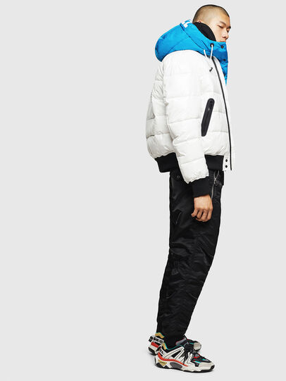 Diesel - W-ON, White - Winter Jackets - Image 6