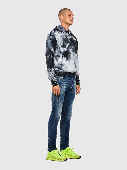 Diesel - Thommer JoggJeans 069PL, Dark Blue - Jeans - Image 6