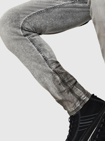 Diesel - Krooley JoggJeans 0091H, Light Grey - Jeans - Image 6