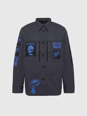 S-MARCUS, Dark grey - Shirts