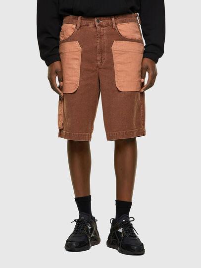 Diesel - D-CHAD-SP-NE, Light Brown - Shorts - Image 1