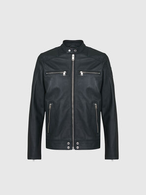 L-BOY, Dark Green - Leather jackets