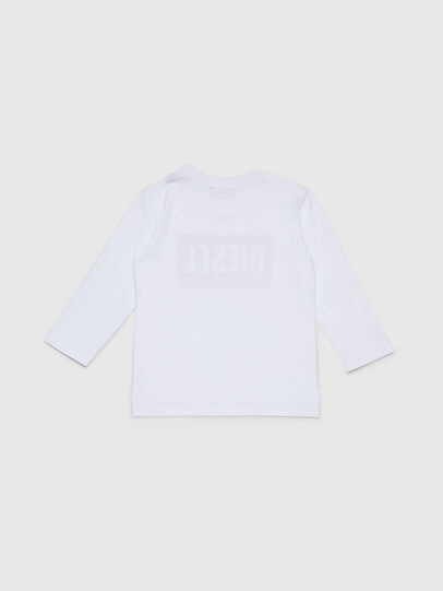 Diesel - TIRRIB-R, White - T-shirts and Tops - Image 2