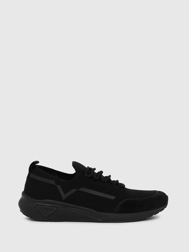 Diesel - S-KBY STRIPE W, Black - Sneakers - Image 1