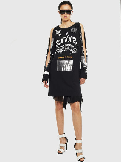 Diesel - T-ROSY-A, Black - T-Shirts - Image 6