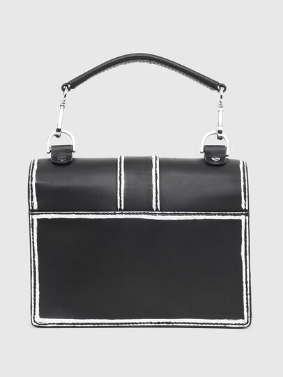 Diesel - MISS-MATCH CROSSBODY, Black/White - Crossbody Bags - Image 2