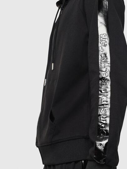 Diesel - S-GIMK-HOOD-J, Black - Sweaters - Image 3