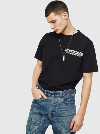 Diesel - T-JUST-T10, Black - T-Shirts - Image 4