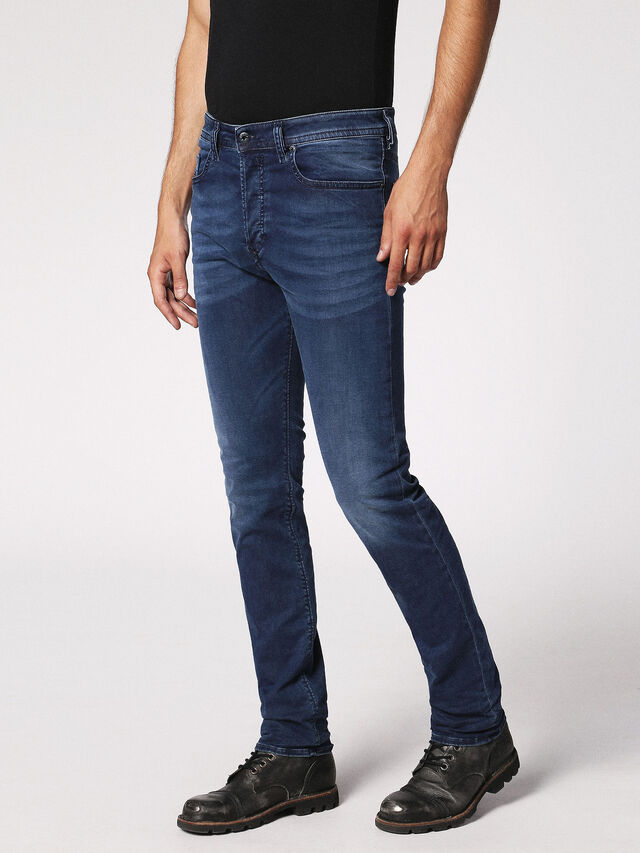 Diesel Buster 0675L, Dark Blue - Jeans - Image 7