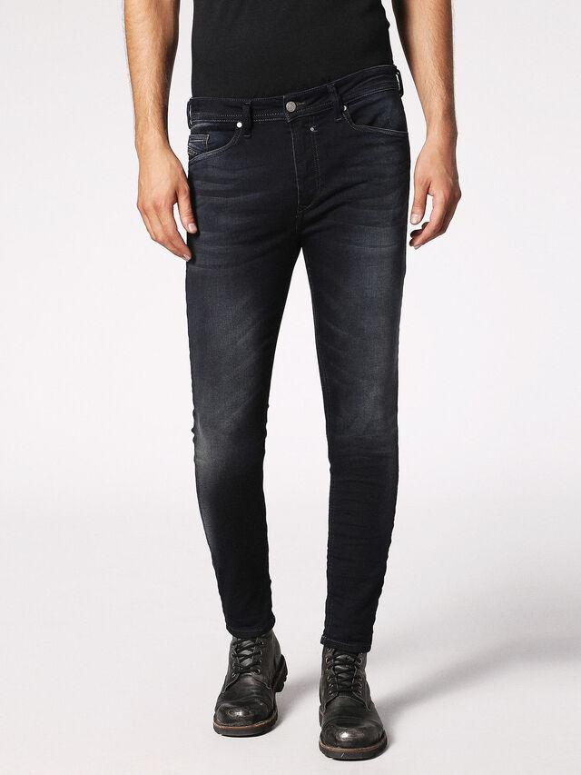 Diesel - Spender JoggJeans 0686F, Dark Blue - Jeans - Image 1