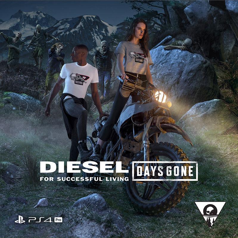 Diesel X Days Gone on PlayStation 4™