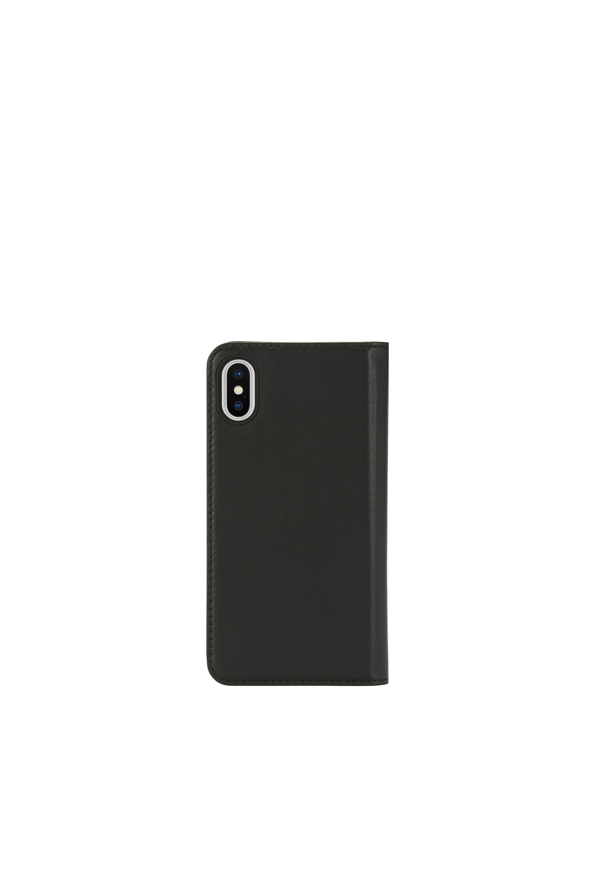 Diesel - SLIM LEATHER FOLIO IPHONE X,  - Flip covers - Image 4