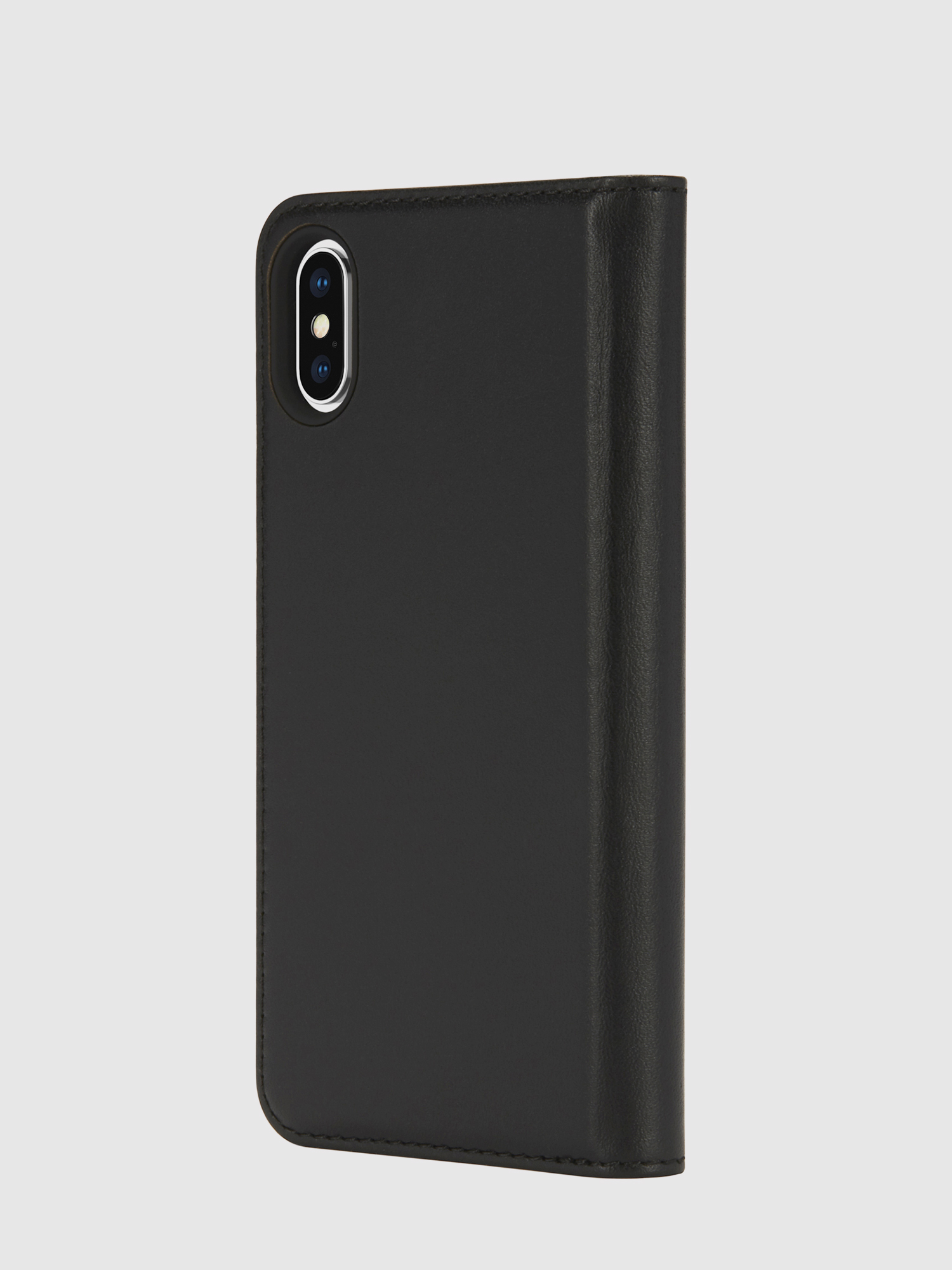 Diesel - SLIM LEATHER FOLIO IPHONE X,  - Flip covers - Image 3